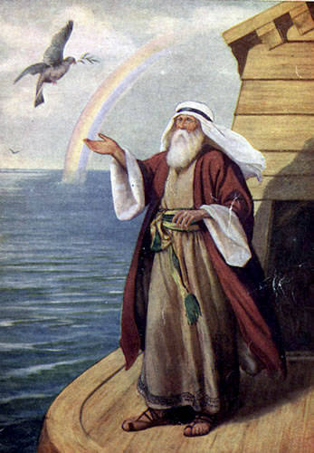 A dove release by Noah returns